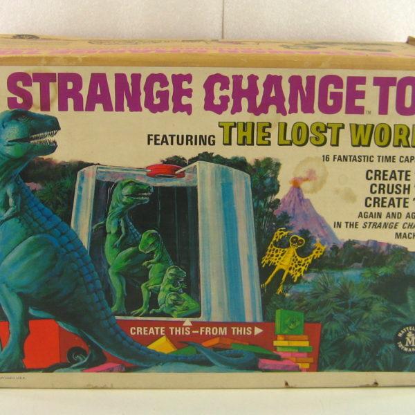 Strange Change Toy : Mattel strange change toy in the box toys time forgot