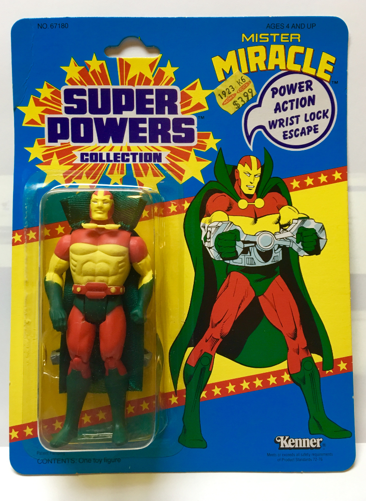kenner super powers mister miracle 1