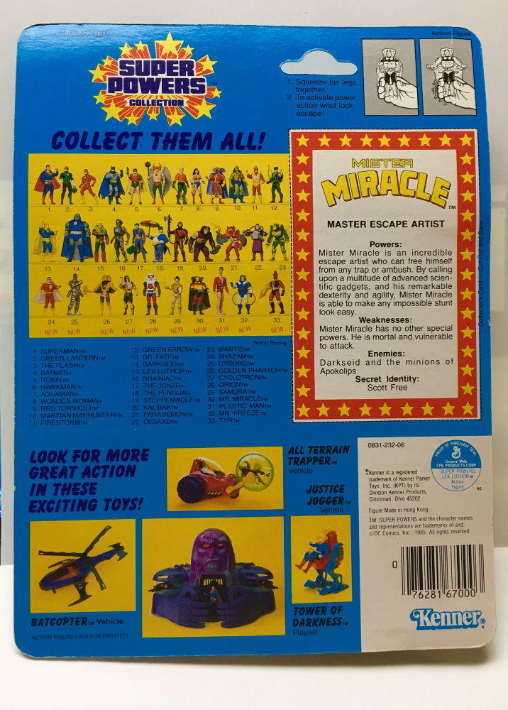 kenner super powers mister miracle 2