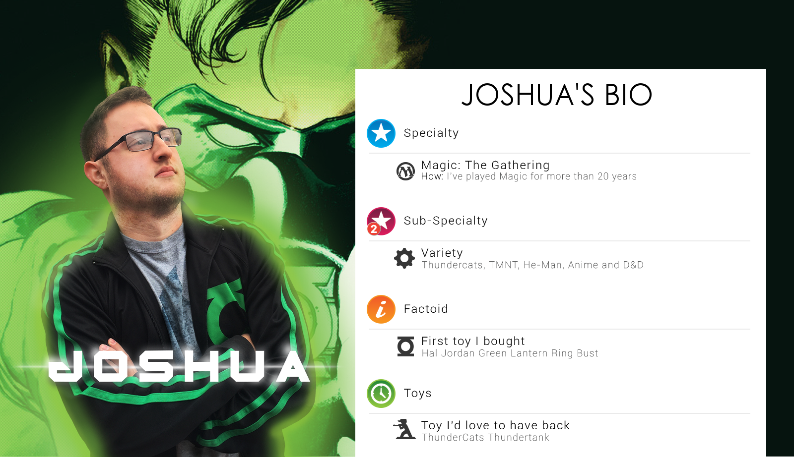 Josh's Bio