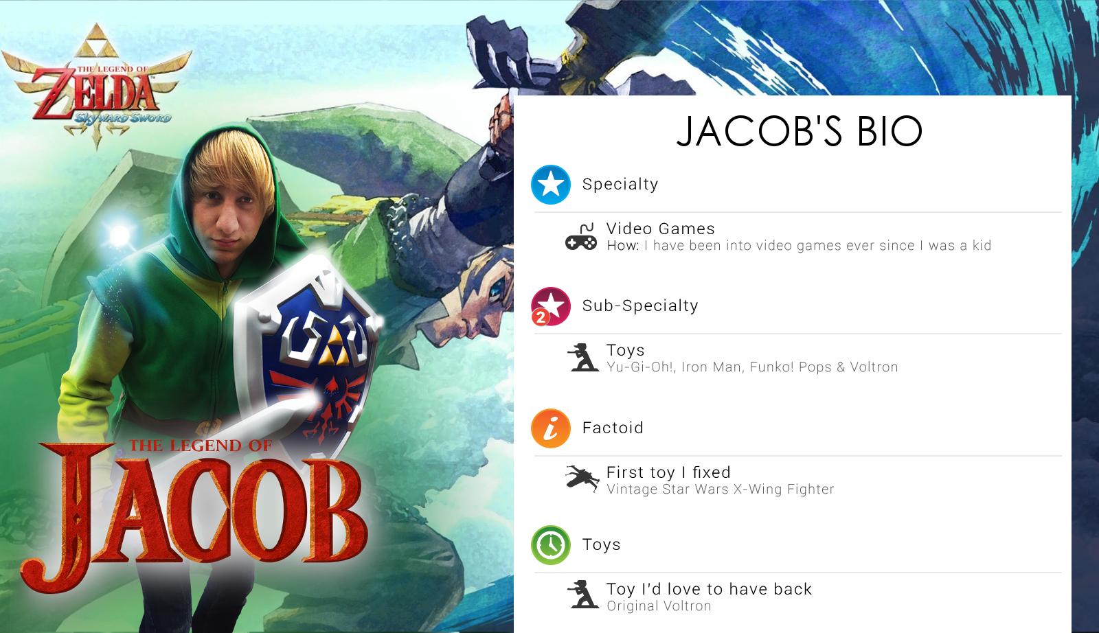 Jacob's bio