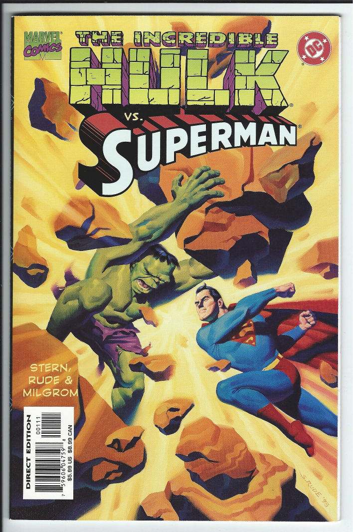 Incredible Hulk vs. Superman 1