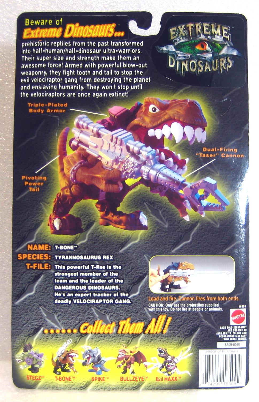 extreme dinosaurs t-bone