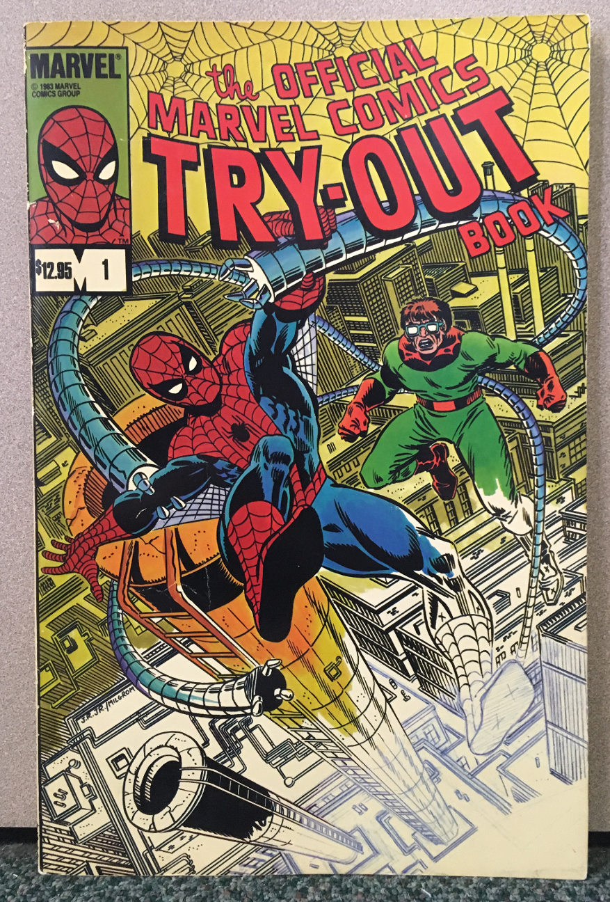 Official Marvel Comics Try-Out Book