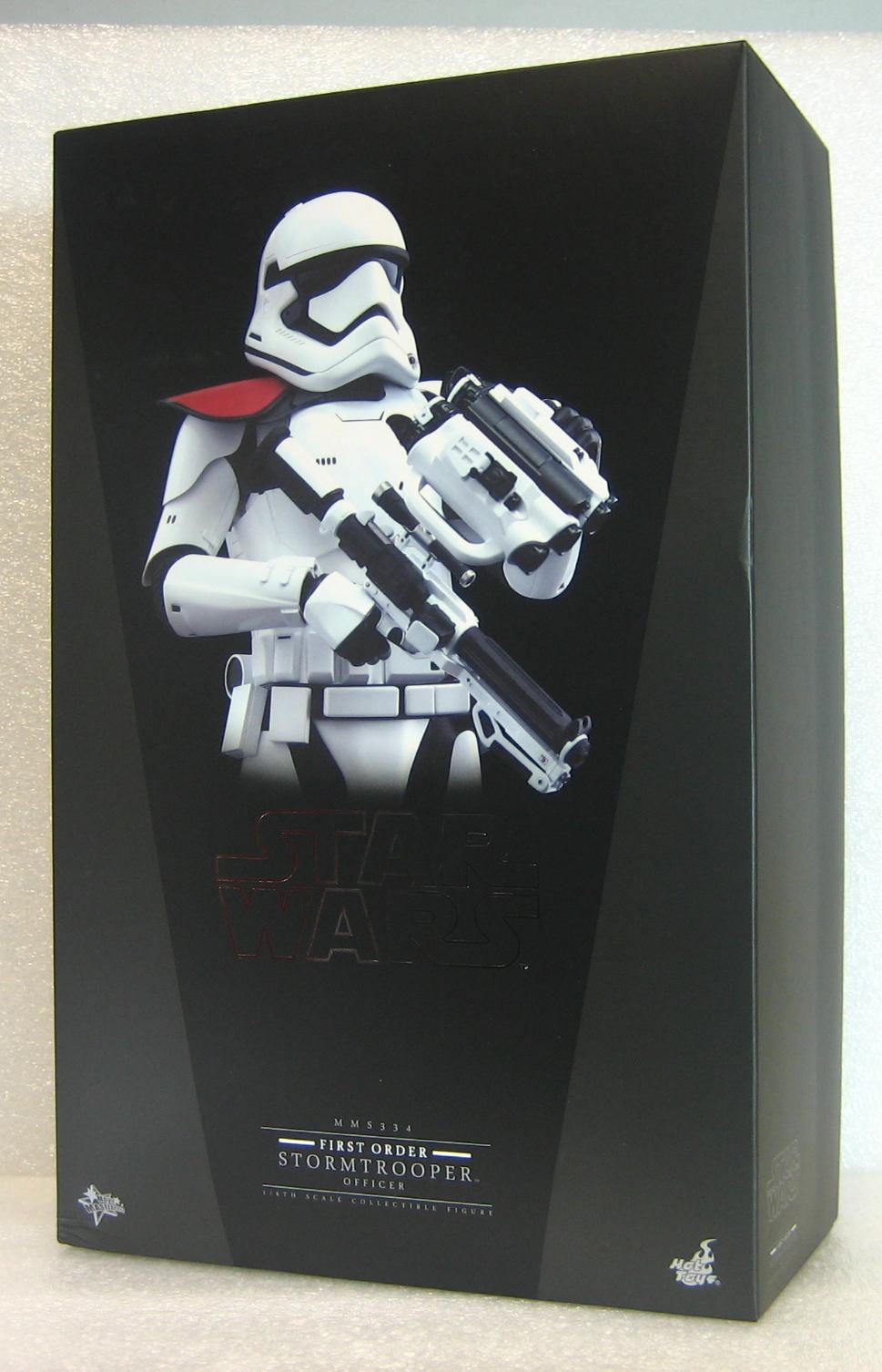hot toys star wars first order stormtrooper officer