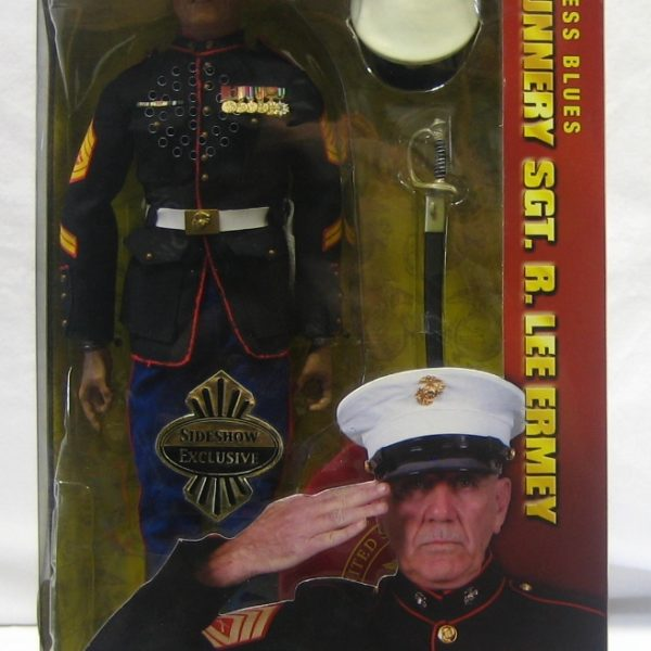R Lee Ermey Action Figure Sideshow Toy Exclusive...