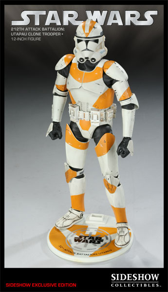 sideshow collectibles star wars 212th Attack Battalion: Utapau Clone Trooper