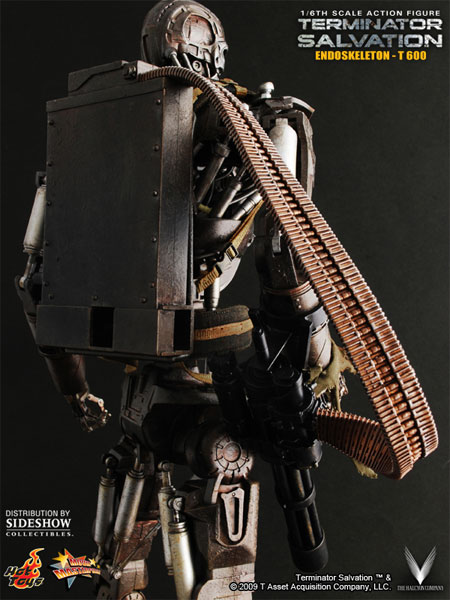 hot toys terminator salvation t-600