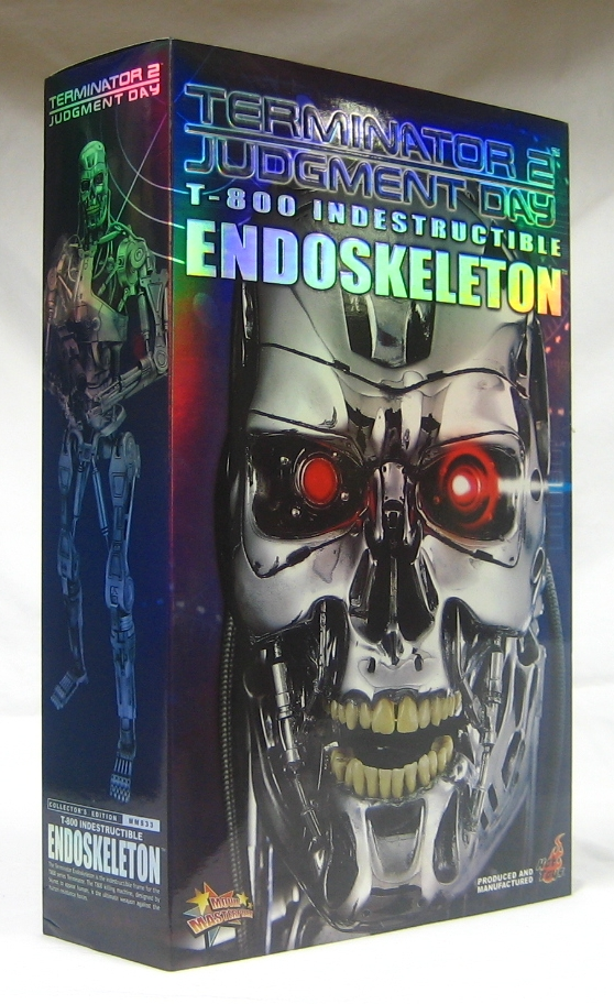 hot toys terminator 2 judgement day t-800 endoskeleon