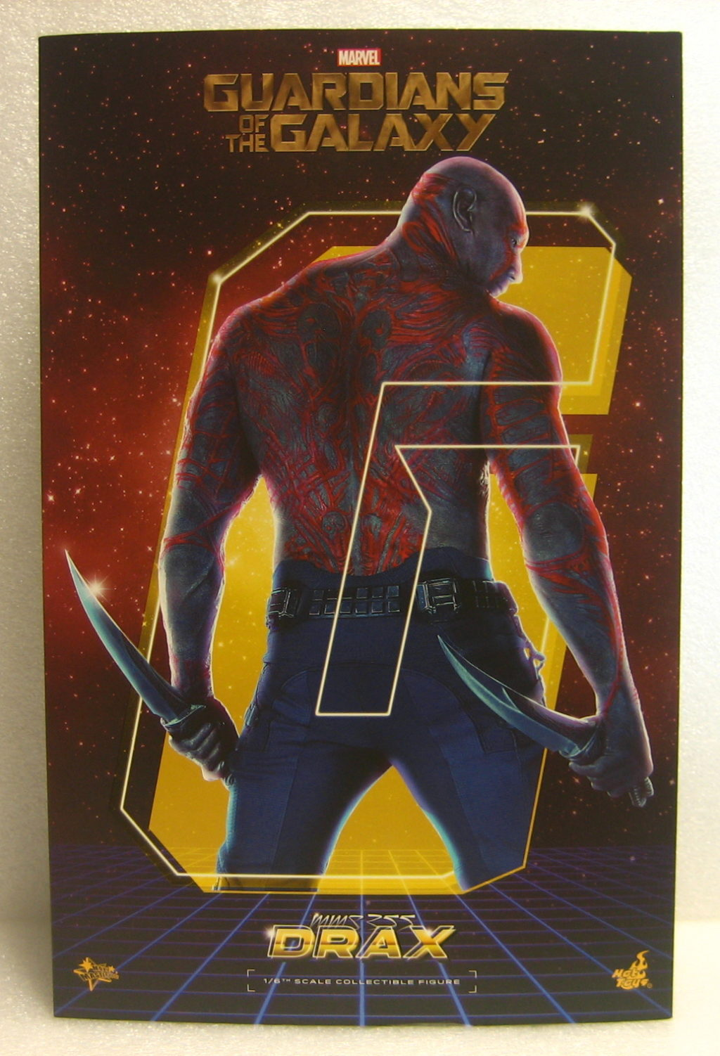 hot toys guardians of the galaxy drax the destroyer