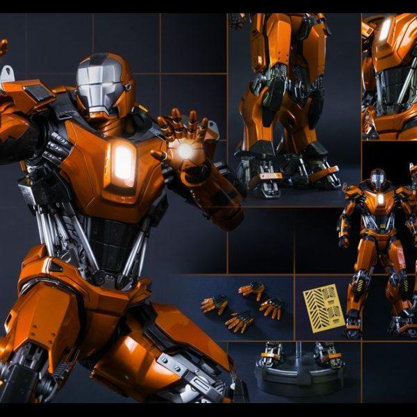 hot toys iron man mark xxxvi peacemaker figure