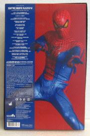 hot toys amazing spider-man box back