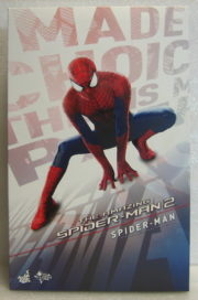 hot toys amazing spider-man 2 box front