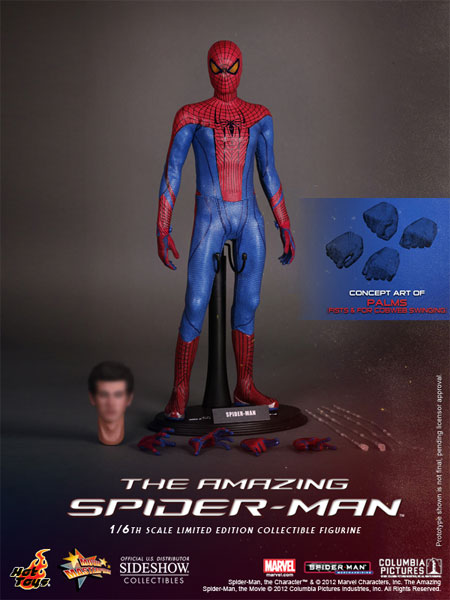 hot toys amazing spider-man figure
