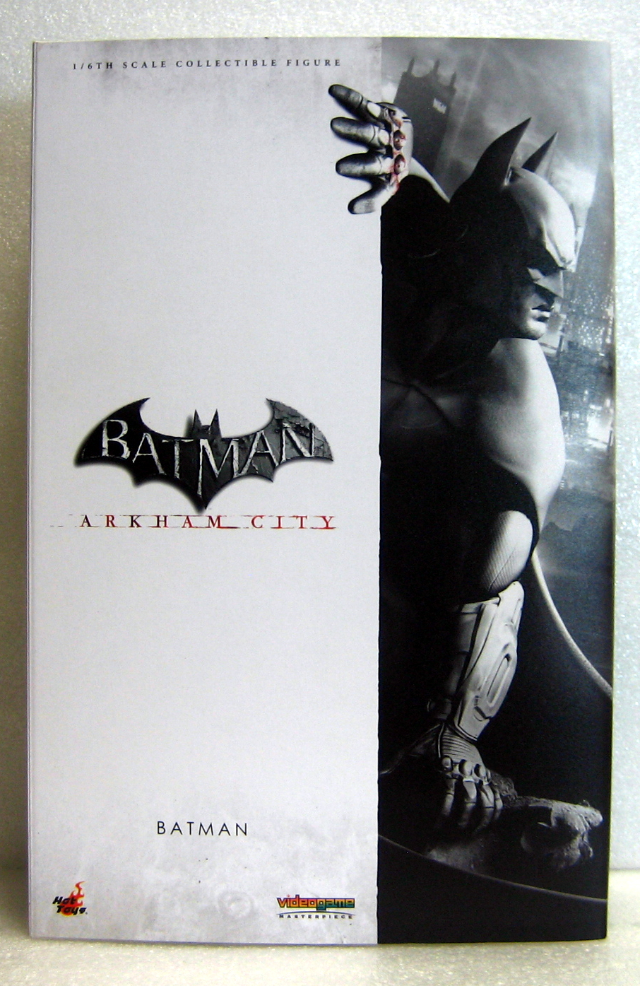 hot toys arkham city batman figure 1