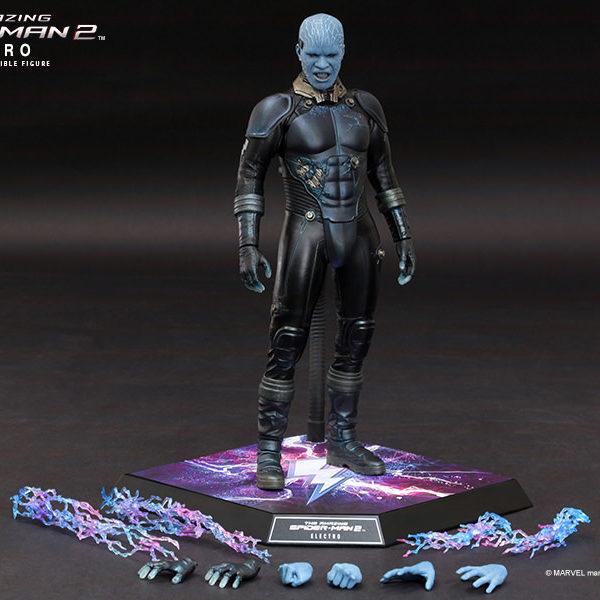 hot toys amazing spider-man 2 electro figure