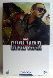 hot toys captain america civil war falcon box front