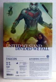 hot toys captain america civil war falcon box back