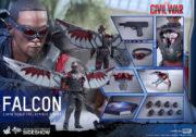 hot toys captain america civil war falcon figure