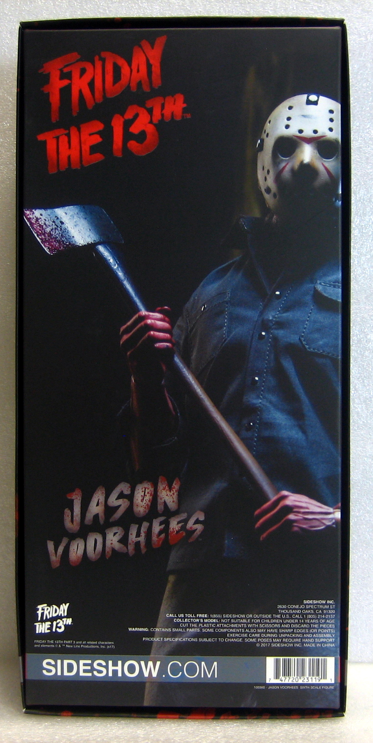 sideshow collectibles friday the 13th jason vorhees 2