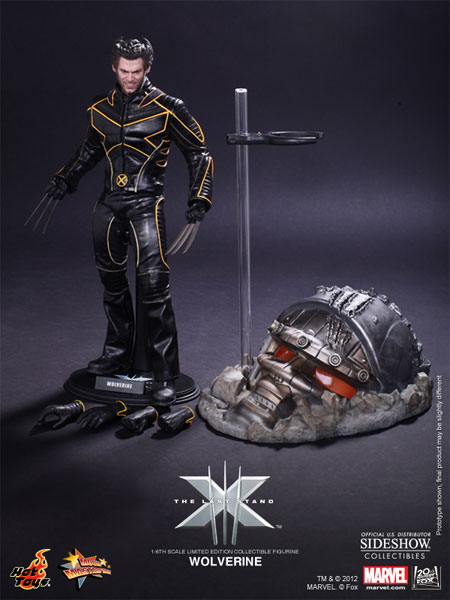 hot toys x-men 3: the last stand wolverine figure