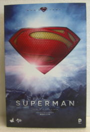 hot toys man of steel superman box front