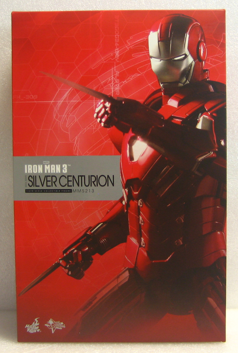 hot toys iron man 3 silver centurion 1