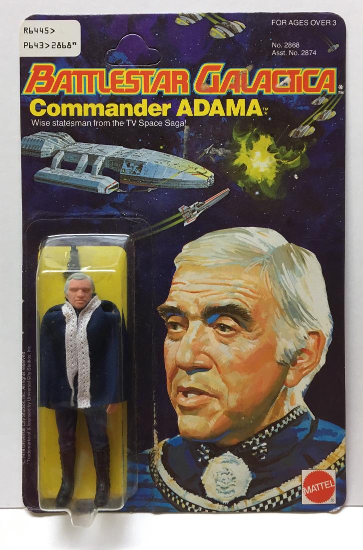 mattel battlestar galactica adama action figure 1