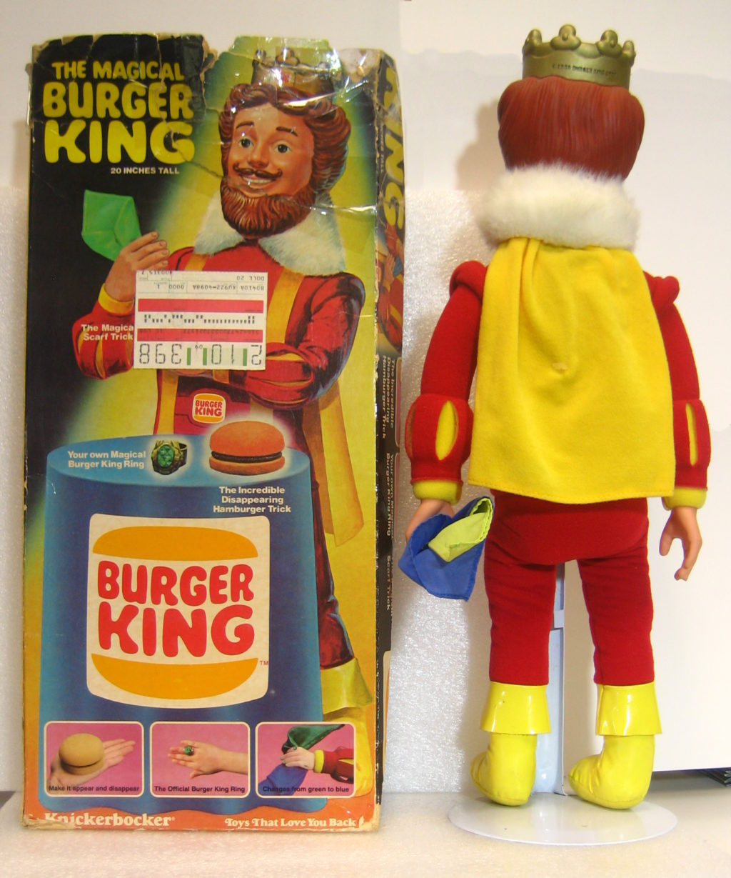 magical burger king doll 2