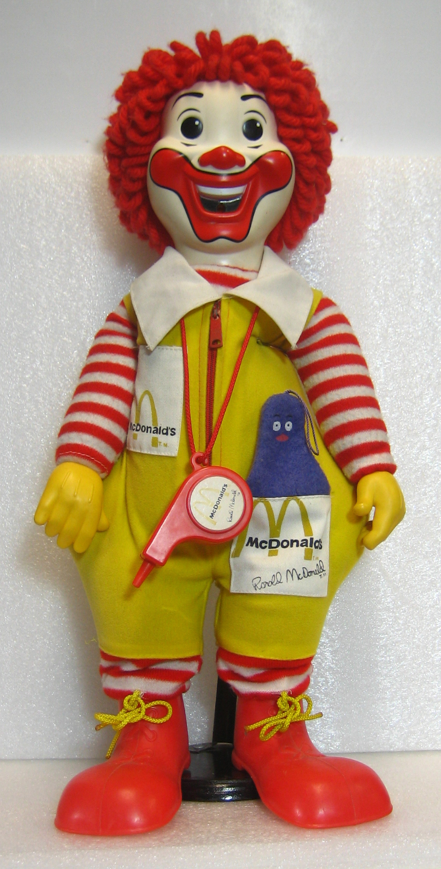 hasbro ronald mcdonald doll 1