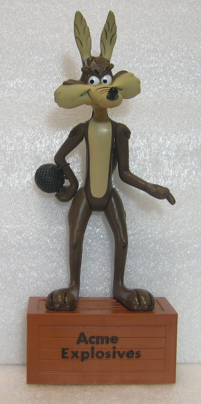 dakin wile e coyote figure bank 1