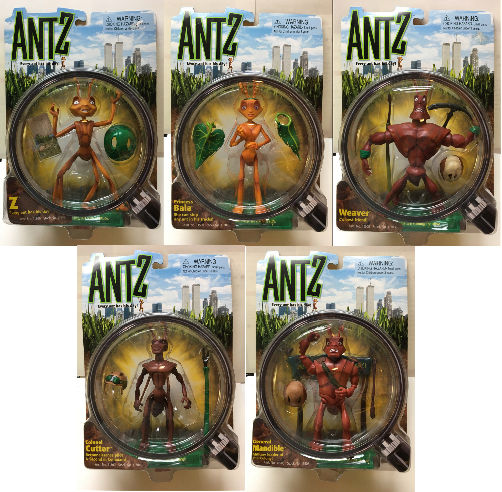 playmates antz action figures 1