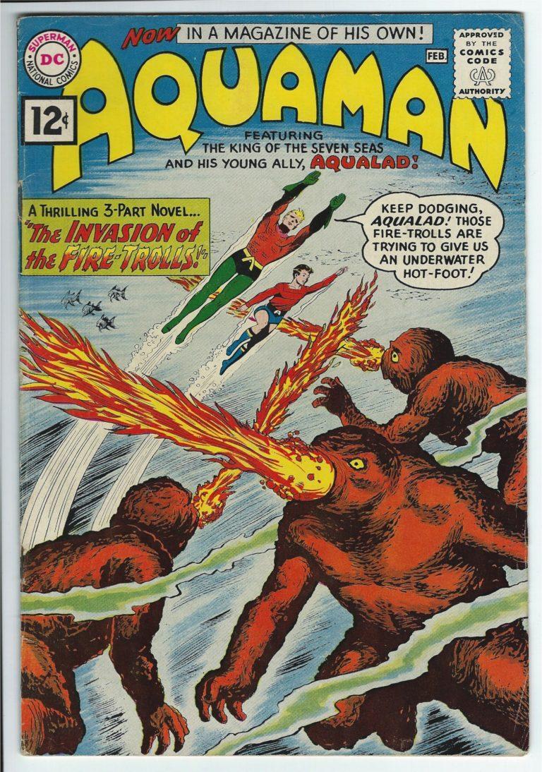 dc comics aquaman 1 1
