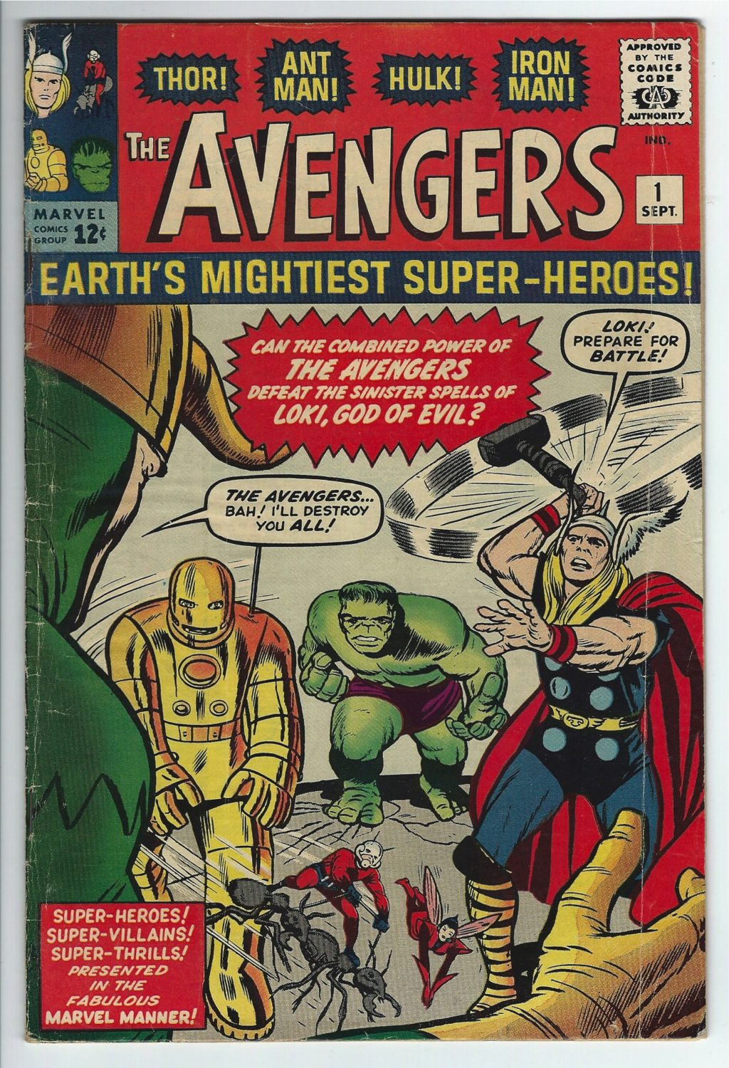 marvel comics avengers #1 1