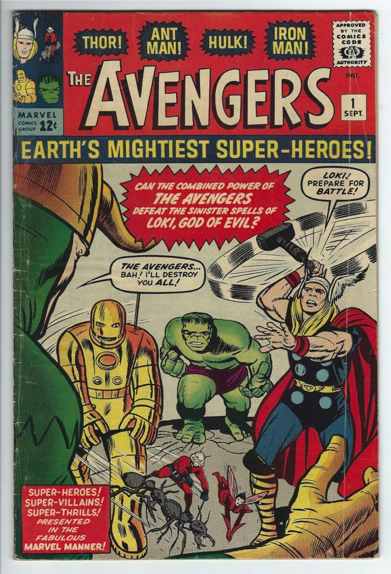 marvel comics avengers #1 1
