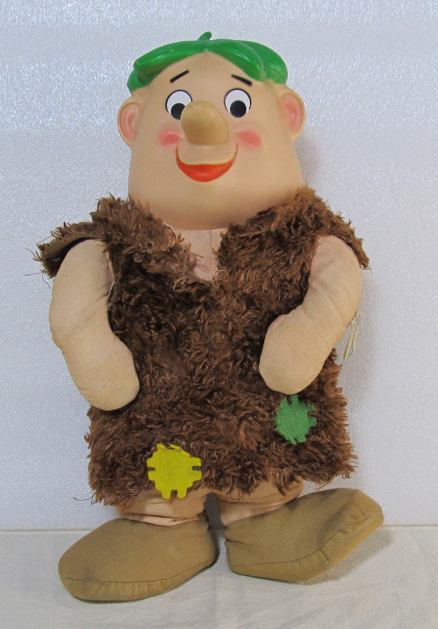 knickerbocker barney rubble plush 1