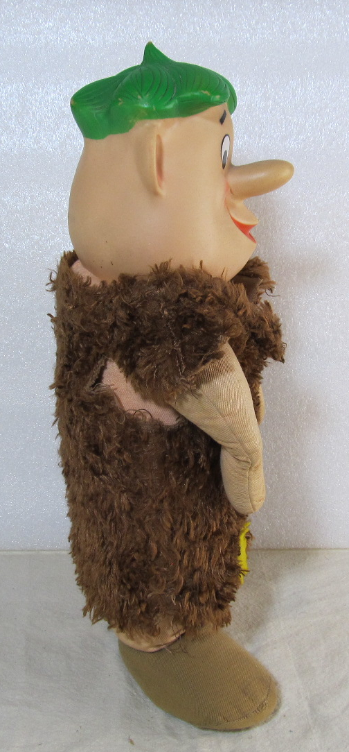 knickerbocker barney rubble plush 2