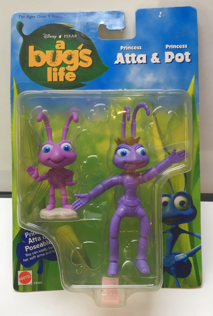 mattel a bug's life atta and dot 1