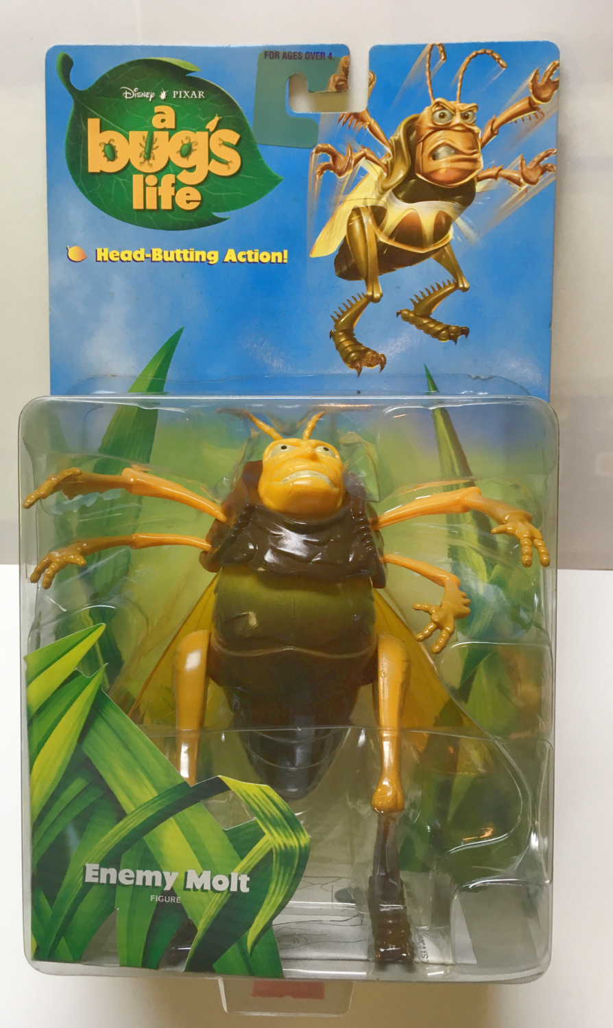 mattel a bug's life enemy molt 1