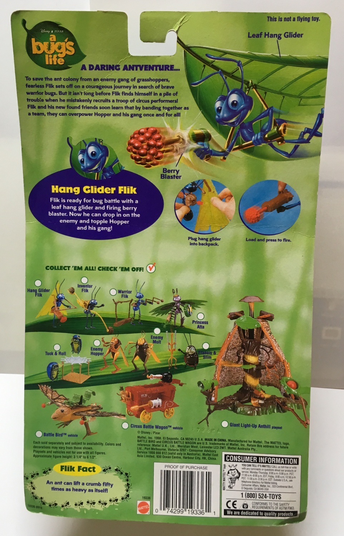 mattel a bug's life hang glider flik 2