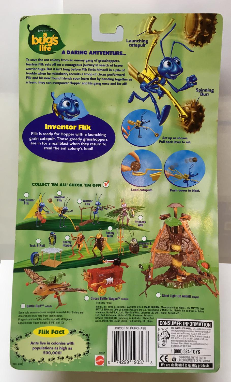 mattel a bug's life inventor flik 2
