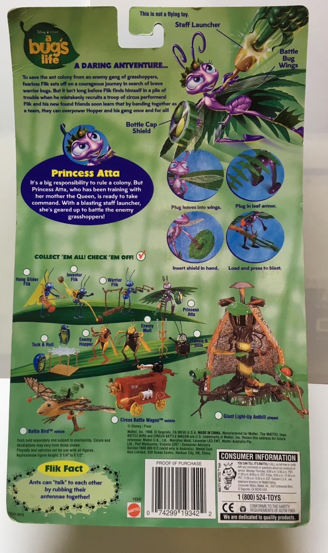 mattel a bug's life princess atta 2