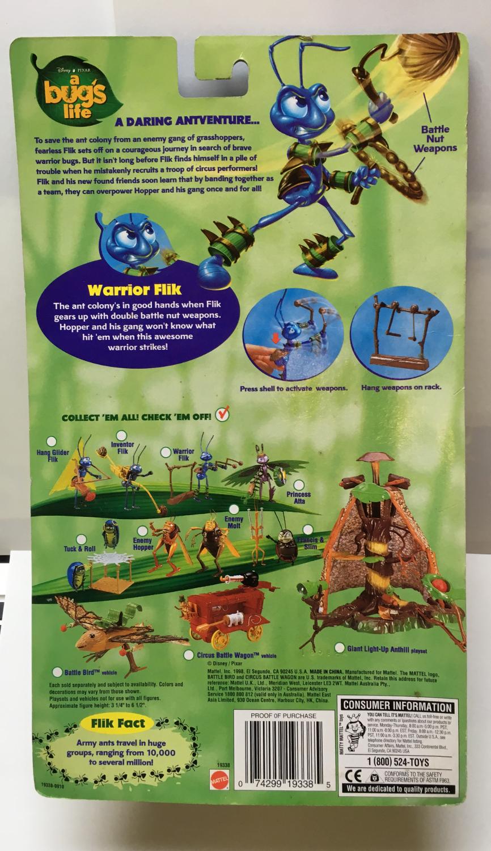 mattel a bug's life warrior flik 2