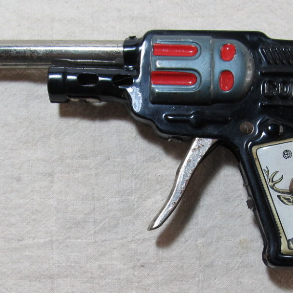japanes tin litho colt 5 gun 2