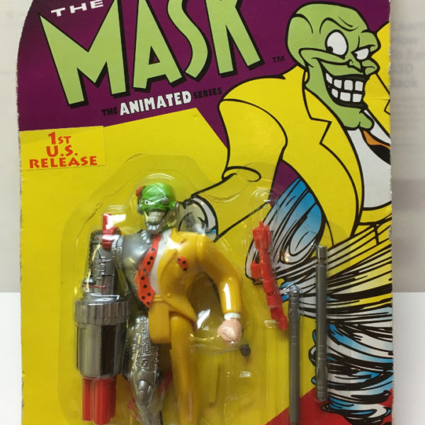 moc the mask animated series cyborg mask action figure the toys