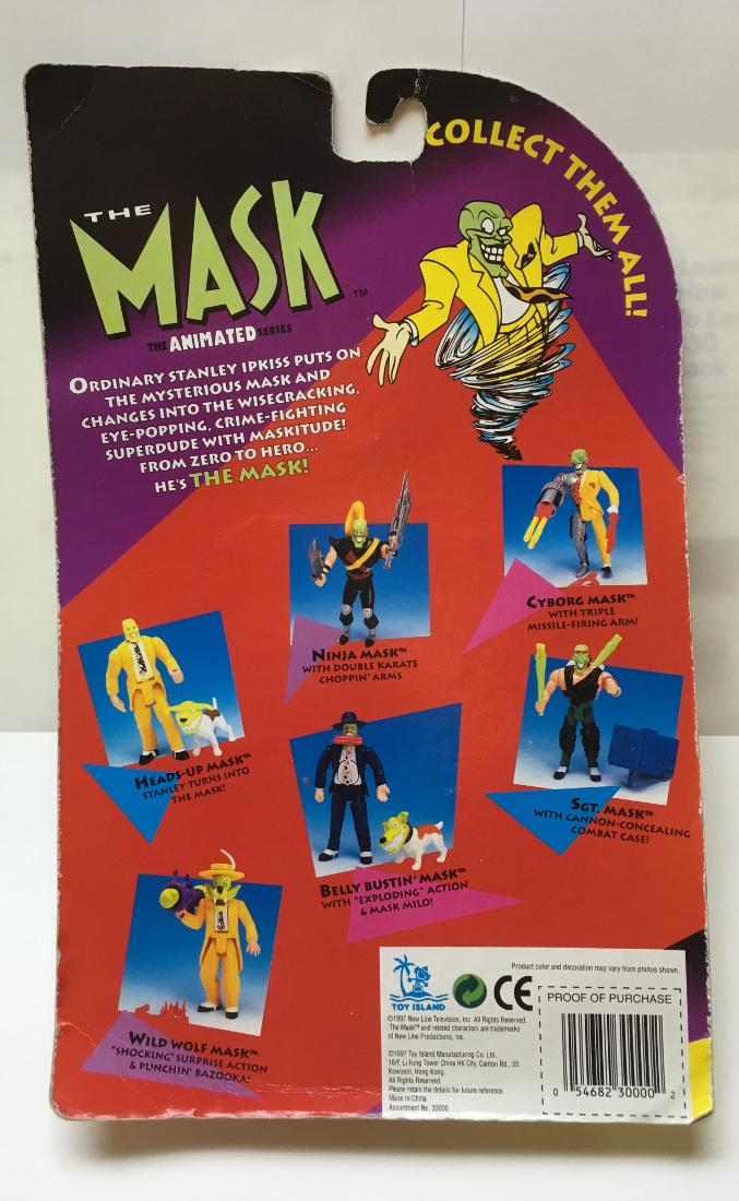 toy island the mask animated series cyborg mask 2