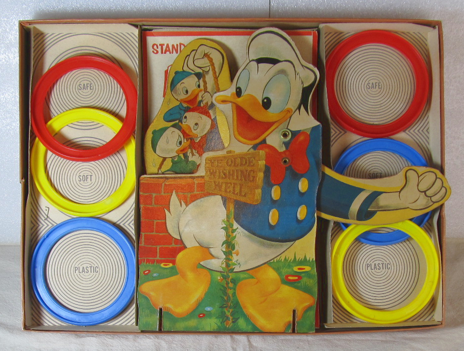 transogram donald duck ring toss game 2