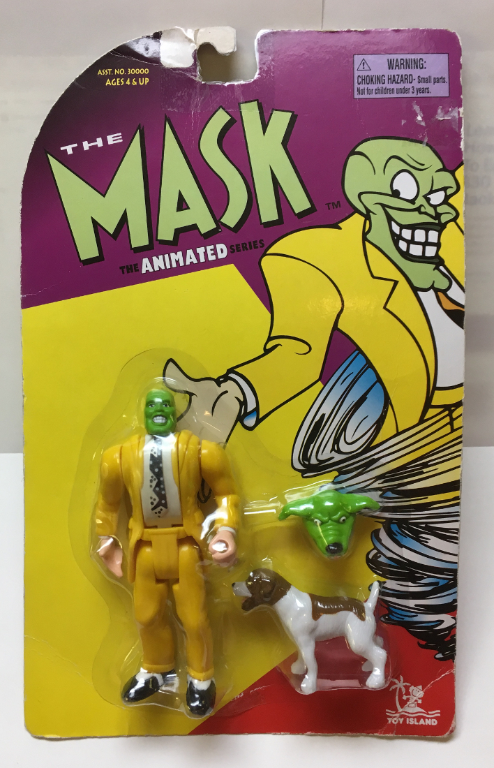 toy island the mask animated series heads up mask 1