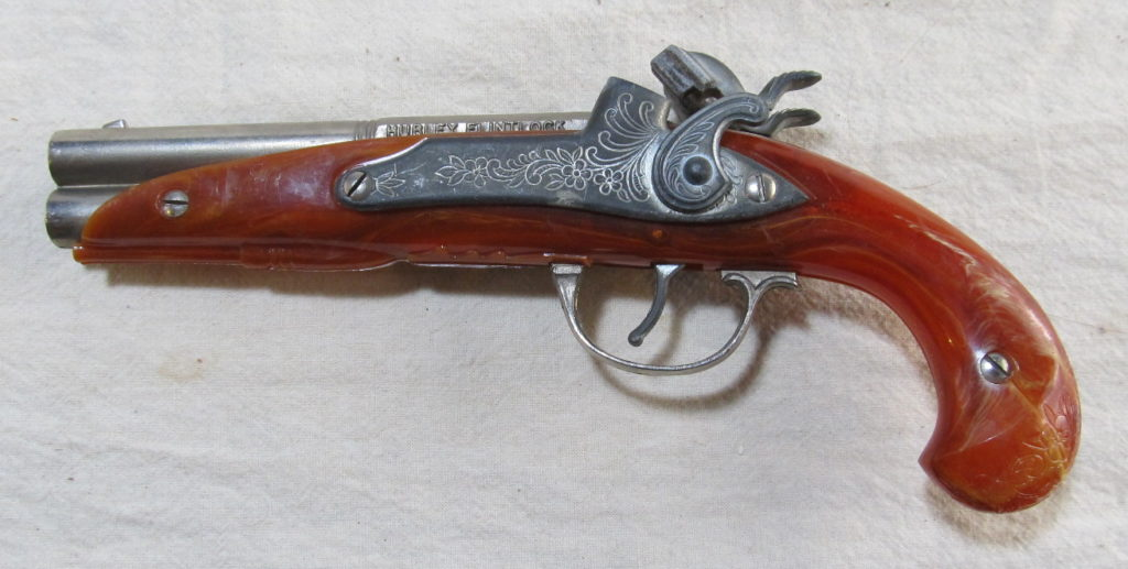 hubley flintlock cap pistol 2