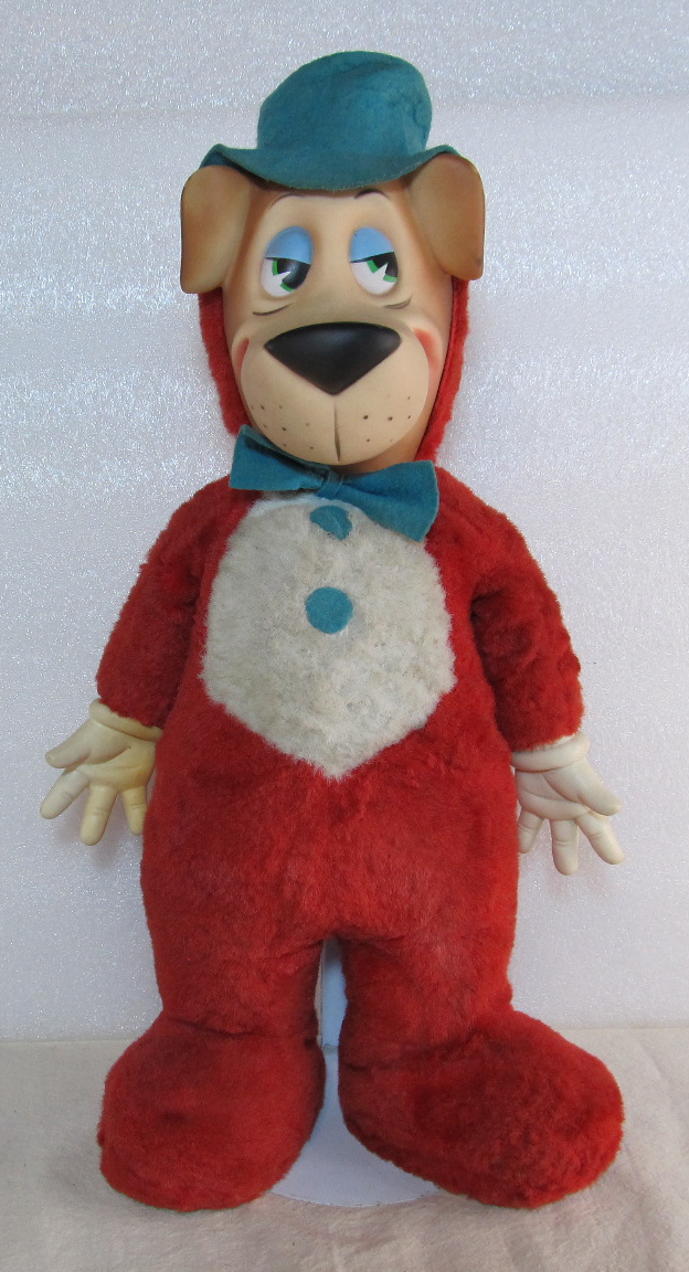 knickerbocker huckleberry hound plush doll 1